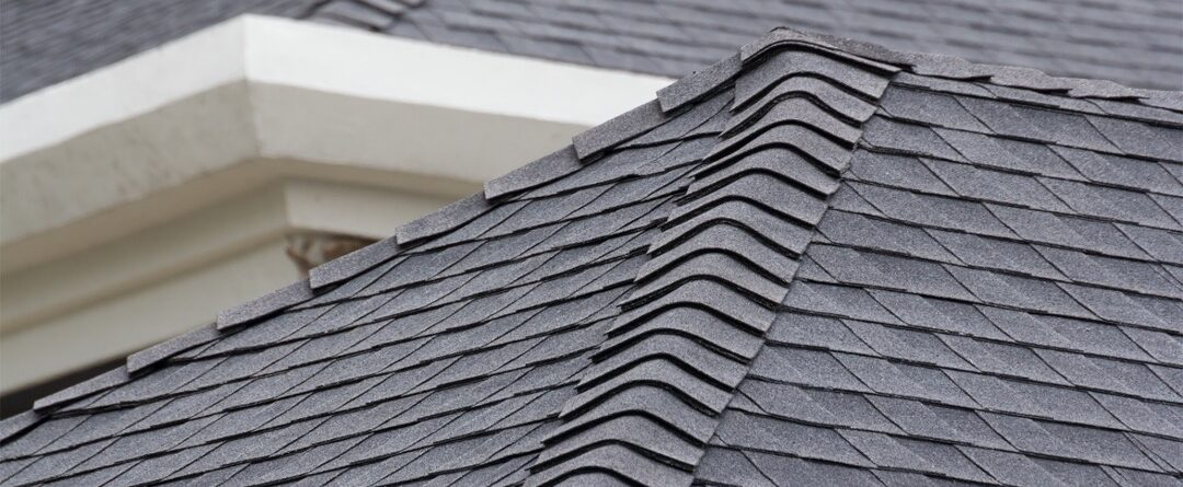 Asphalt shingle roof on a house in Wicker Park, Chicago